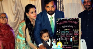 Aveer Pratap's 1st Birthday Celebrations