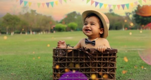 Happy First Birthday Ayaansh